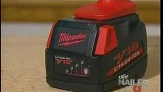 Milwaukee Tools Lithium Ion Drill on DIY Cool Tools