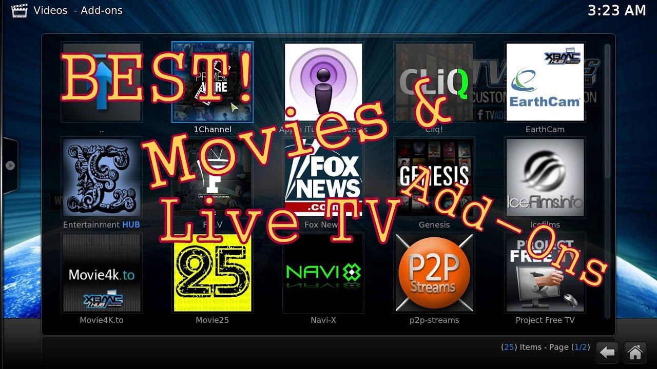 how to watch cp24 live on kodi
