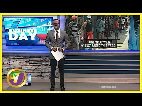Study Shows Jamaica's Unemployment Increase   TVJ Business News - July 15 2021