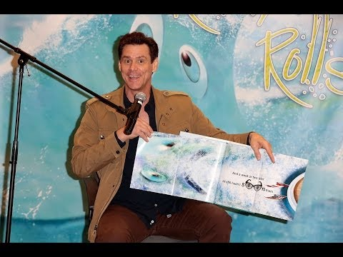 Actor Author Jim Carrey Reads His Childrens Book How Roland Rolls