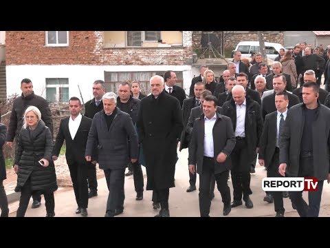 Report TV - Pustec, Rama-Zaev, takim me komunitetin maqedonas