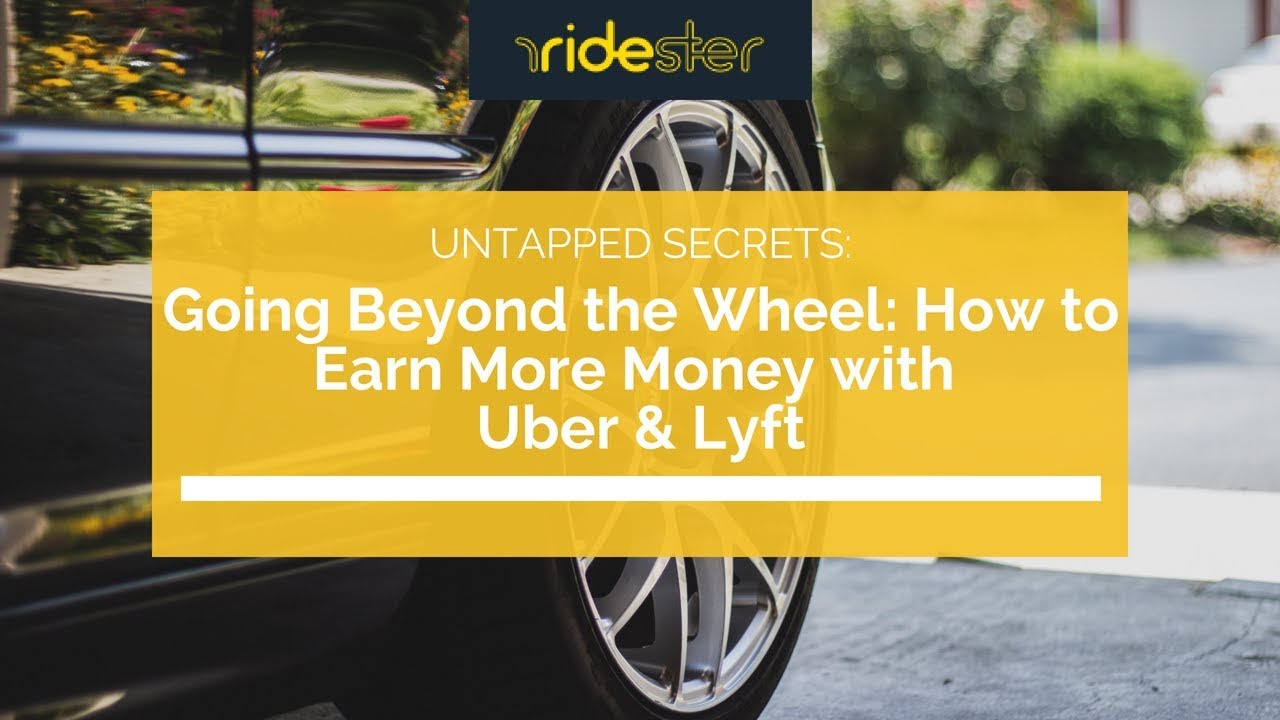 Uber driver advice 17 creative ways to make more money in 3 weeks