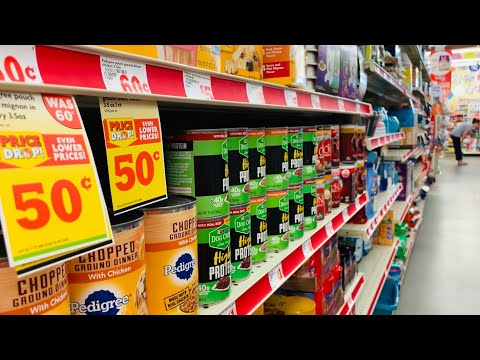 FAMILY DOLLAR SHOPPING!!! $1 AND UNDER PET FOOD + SUPPLIES!!!