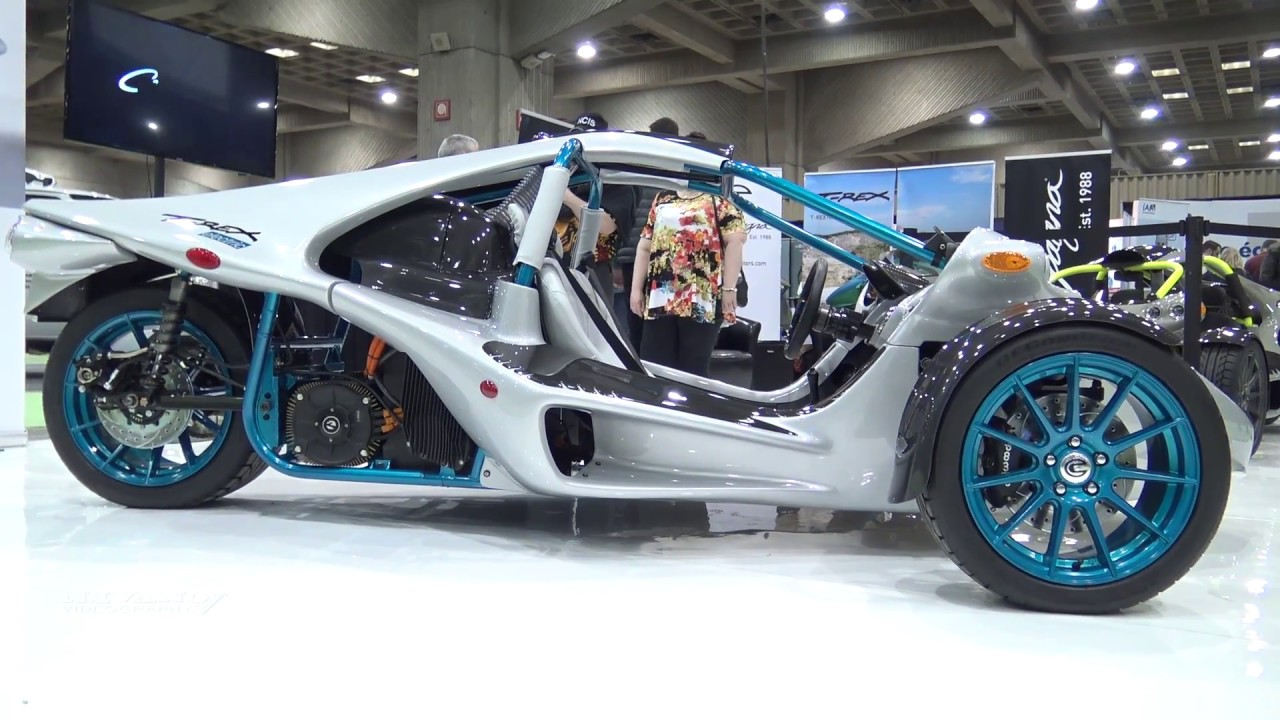Campagna T Rex Electric Prototype Walkaround 2018