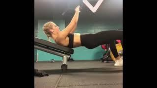 Char Hip Thrust Good Form