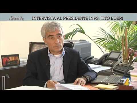 Intervista al presidente INPS, Tito Boeri