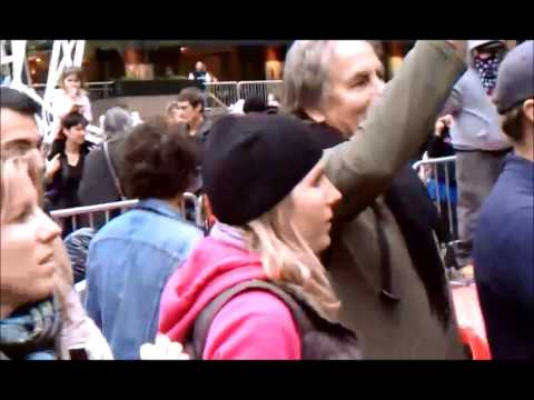 OCCUPY WALL STREET MOVEMENT AT ZUCOTTI PARK