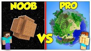 PIANETA NOOB CONTRO PIANETA PRO! - Minecraft ITA