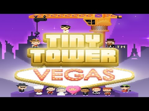Tiny Tower Vegas - iOS / Android - HD (Sneak Peek) Gameplay Trailer
