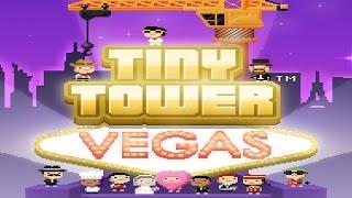 Tiny Tower Vegas - iOS / Android - HD (Sneak Peek) Gameplay Trailer