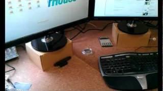 Walktime Blog #20: Building A Triple-head Monitor Stand