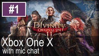 Divinity Original Sin 2 Xbox One X Gameplay (Let