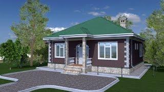 Моделирование дома в программе Archicad 18 Нагиев Айхан