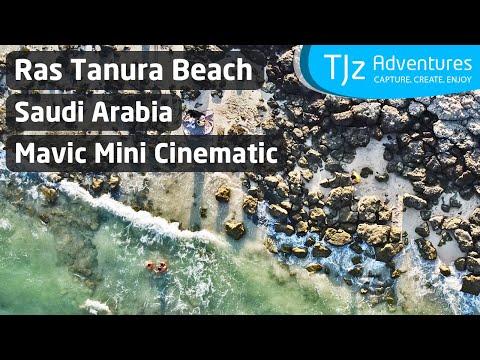 RAS TANURA BEACH Saudi Arabia | DJI Mavic Mini Cinematic 2.7K Footage
