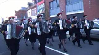 Dunloy Accordion @ Gertrude Stars 50th Anniversary Parade 2011