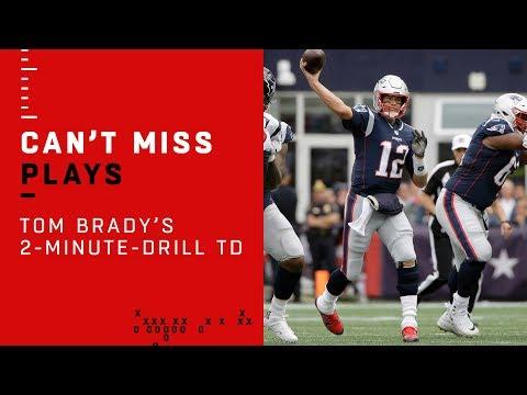 Tom Brady Puts Together Clutch 2-Minute-Drill TD!