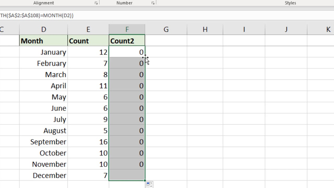 Count Months Between Two Dates in Excel   Two Formula Examples
