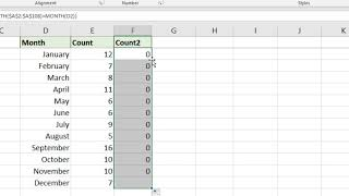 Count Months in Date Range in Excel - Two Formula Examples