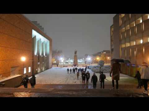 University Of Washington Snow Day - December 9th 2016