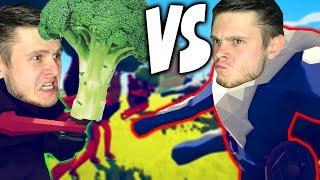 ВЕГЕТАРИАНЕЦ VS МЯСОЕДЫ + Все Новые ЮНИТЫ \\ Totally Accurate Battle Simulator