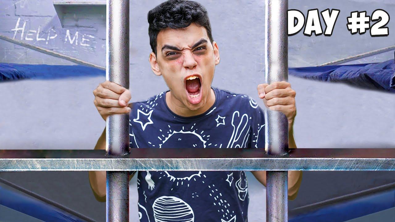 Download تحدي البقاء في السجن لمدة ٢٤ ساعة !! 😱اخر واحد يخرج يربح 🔥😍