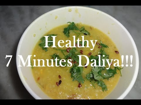quick-daliya-(broken-wheat):-healthy-lunch-or-dinner
