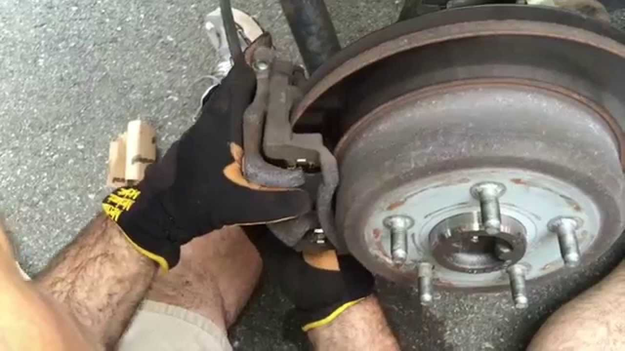 Changing Brakes On 2013 Jeep Wrangler Jk Youtube