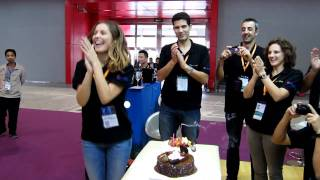 V3 Sitios Bodega Alejandra Birthday at Interwine China 2011 飛昂酒業.MOV