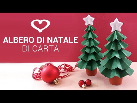 Tutorial come realizzare un albero di natale di carta for Addobbi per la classe natale