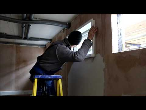 Buildeco flat-pack Window Installation