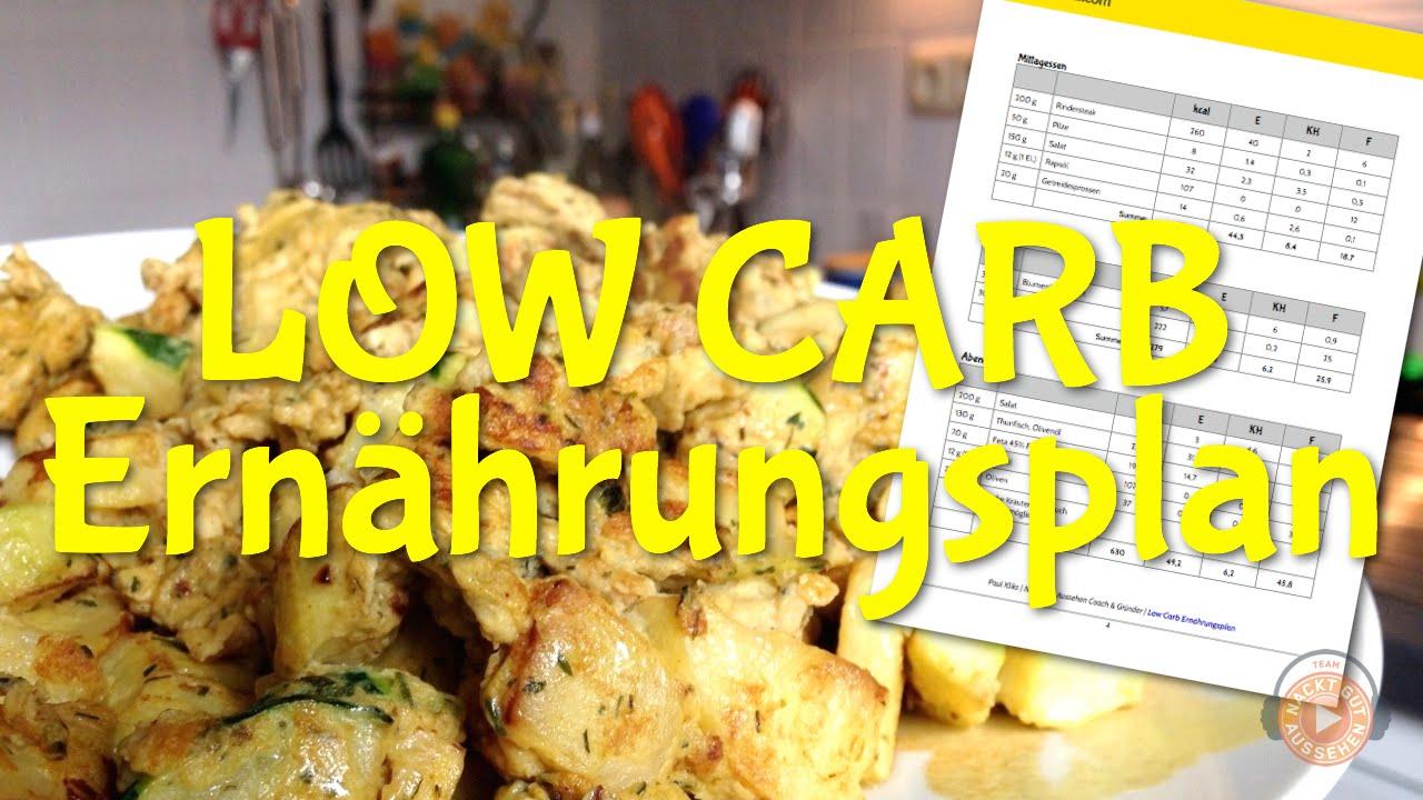 low carb diätplan download