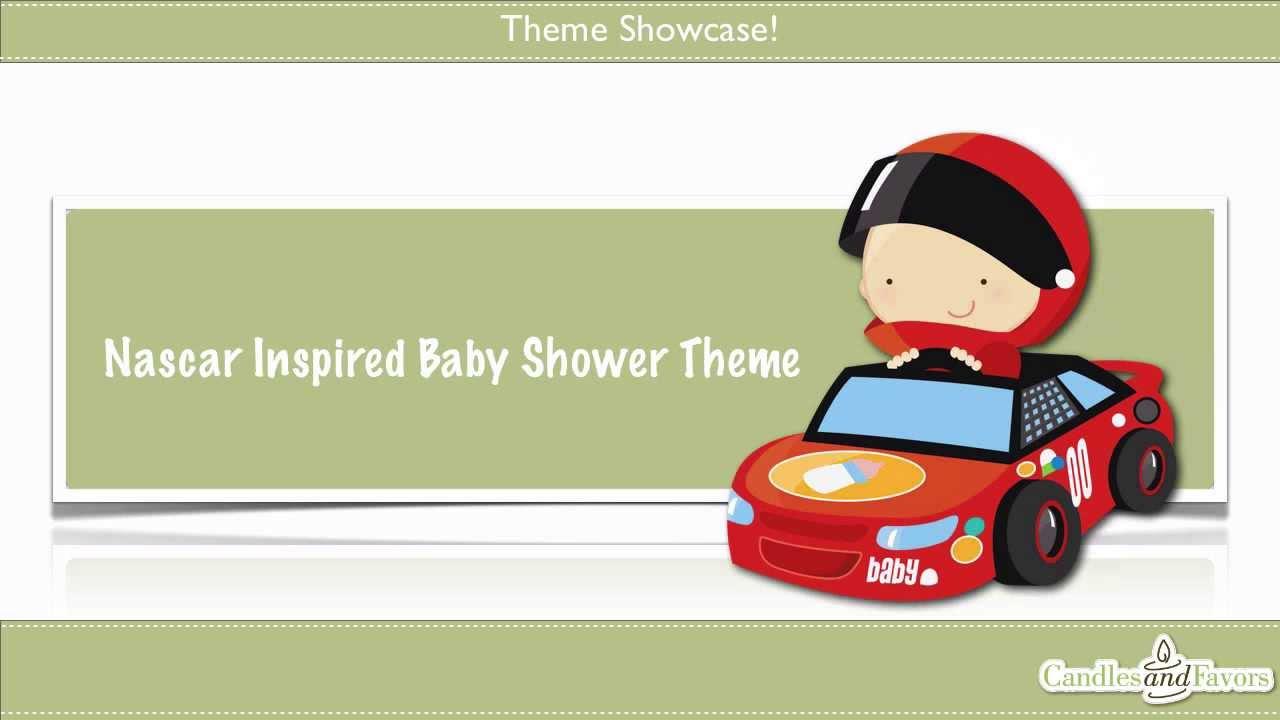 Nascar Inspired Baby Shower Theme Youtube