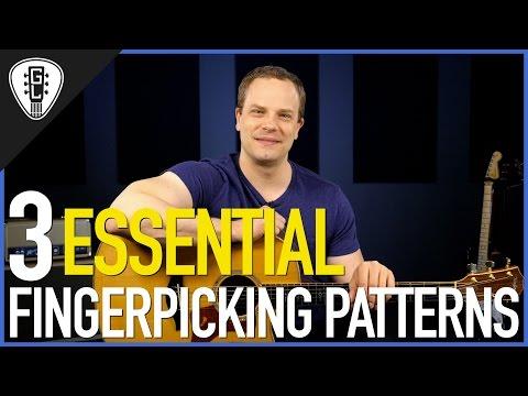 3 Essential Fingerpicking Patterns - Guitar Lesson