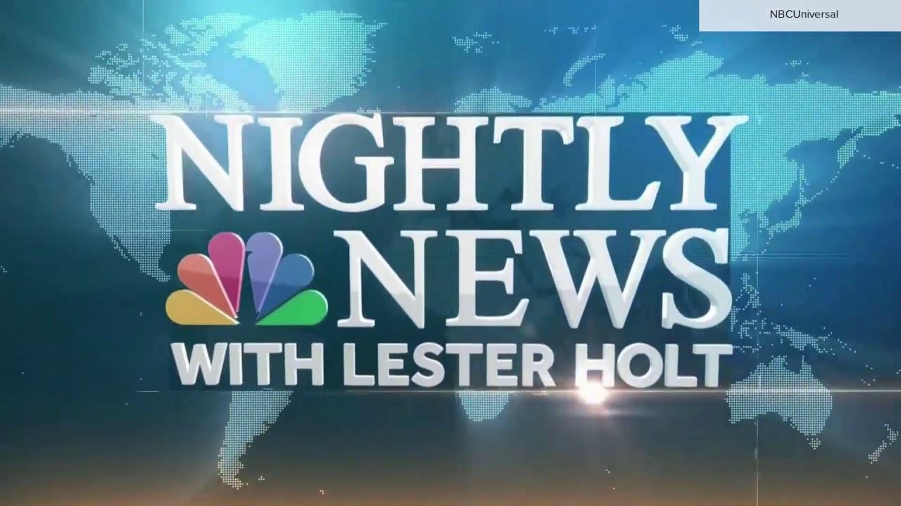'NBC Nightly News' new open introduced Friday, Nov. 27, 2020