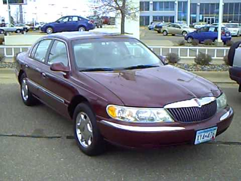 2001 lincoln continental youtube. Black Bedroom Furniture Sets. Home Design Ideas