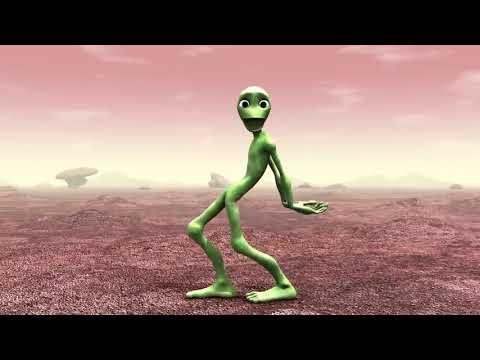 Video intero dell'alieno che balla