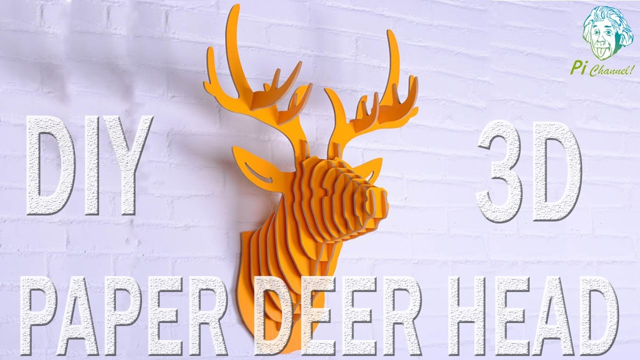 How To Make A Paper Deer Head