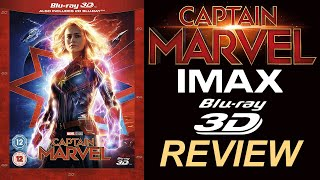 CAPTAIN MARVEL 3D Blu-ray Review   IMAX