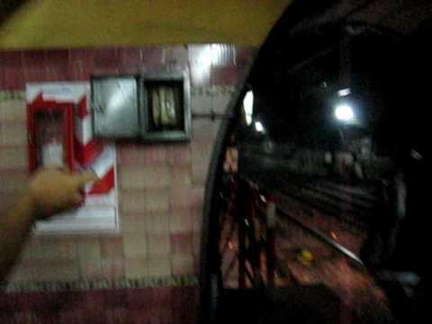 D-Line (Green) Shut Down Buenos Aires, Argentina Subte Metro