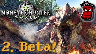 Monster Hunter World: Zweite Beta! PC-Version, Spielzeit, Monster DLC | Gameplay [German Deutsch]