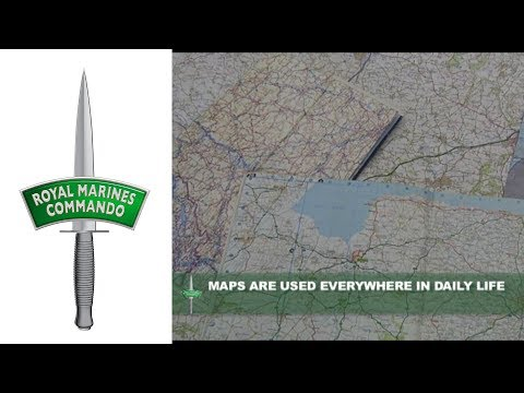 Royal Marines: How To Map Read (1/13)