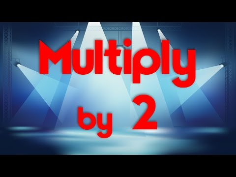 Multiply by 2 | Learn Multiplication | Multiply By Music | Jack Hartmann