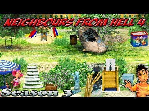 Neighbours From Hell 4 - Season 3 [100% walkthrough]