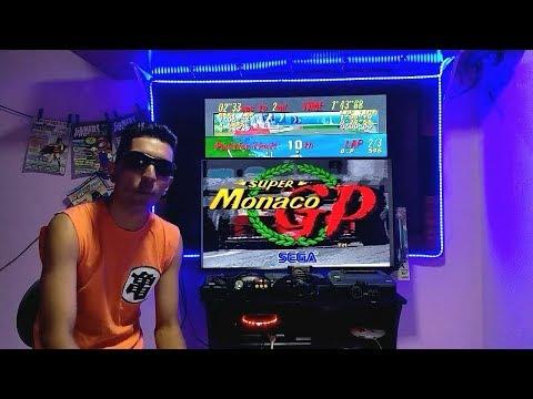 MEGA DRIVE ! Super Monaco GP Gameplay ft Erick com bugs, macetes e curiosidades surpreendentes !!!
