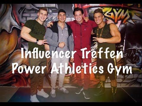Influencer-Treffen mit Tony Milano & Andrei Deiu' im Power Athletics Gym / VLOG