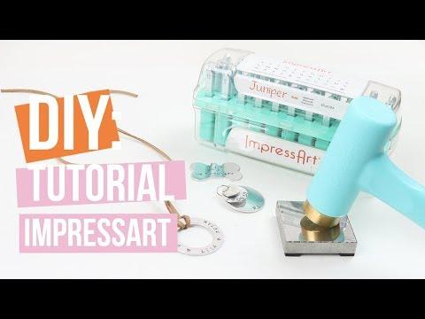 ImpressArt | slagletterplaatjes, stamping blanks ♡ Tutorial