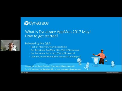 Online Perf Clinic – What is Dynatrace AppMon 2017 May And How to Get Started