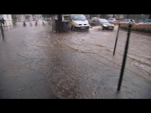 Watch : La ville de Caen sous les eaux...