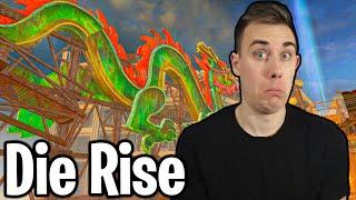 #4 IN THE WORLD - Die Rise - No Perk Challenge!
