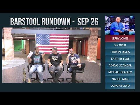 Barstool Rundown - September 26, 2017